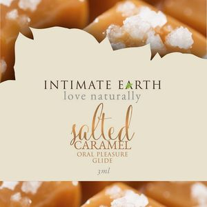 Intimate Earth Salted Caramel Foil Pack 3Ml (Eaches)
