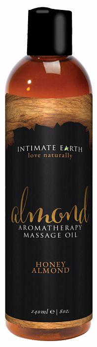 INTIMATE EARTH ALMOND MASSAGE OIL 8 OZ