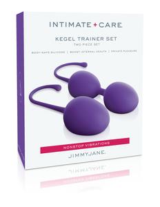 Jimmy Jane Intimate Care Kegel Trainer Set Purple
