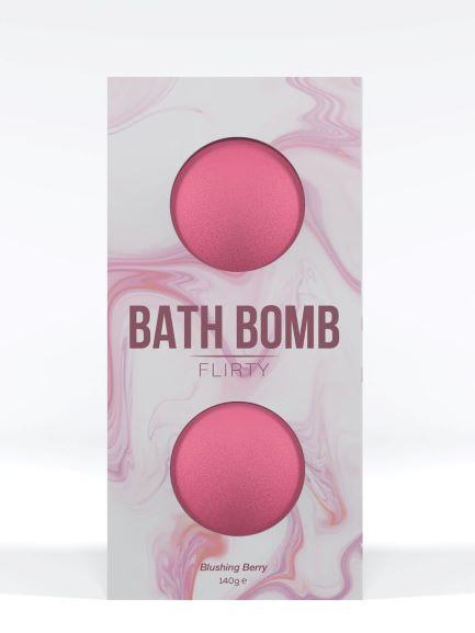 DONA BATH BOMB FLIRTY BLUSHING BERRY 140G