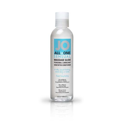 JO ALL IN ONE MASSAGE GLIDE UNSCENTED 4OZ