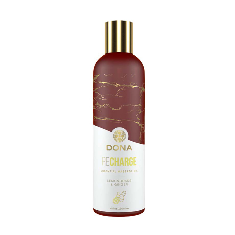 DONA ESSENTIAL MASSAGE OIL RECHARGE- LEMONGRASS & GINGER