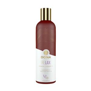 Dona Essential Massage Oil Relax - Lavender & Tahitian Vanilla