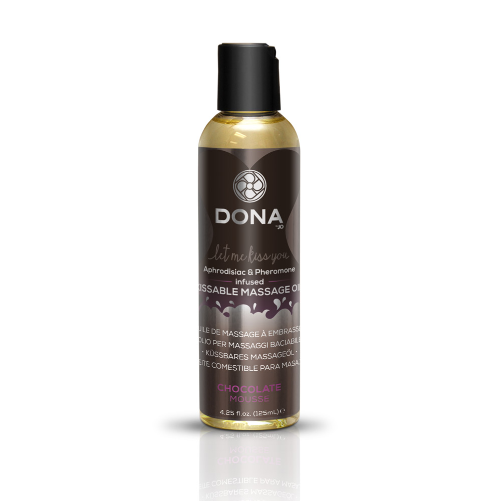 DONA KISSABLE MASSAGE OIL VANILLA BUTTERCREAM 3.75 OZ