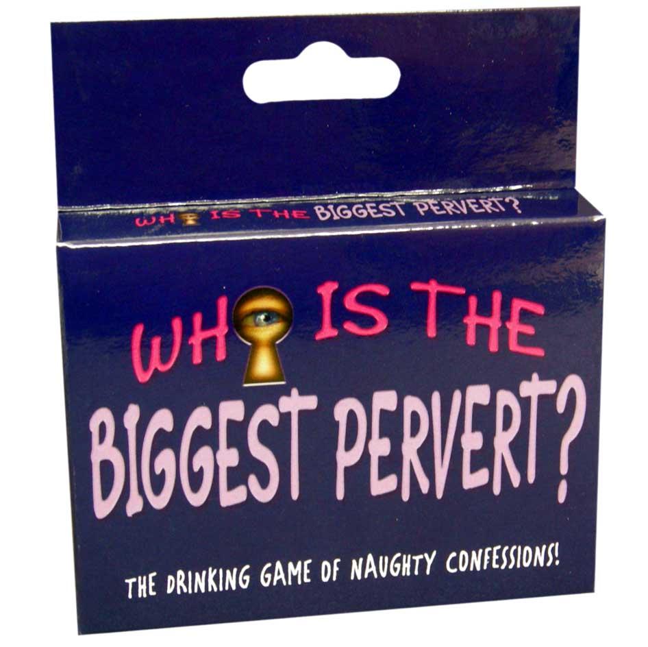 WHOS THE BIGGEST PERVERT CARD GAME  - KHEBGC103