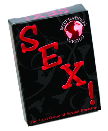 INTERNATIONAL SEX CARD GAME (out 3-16)