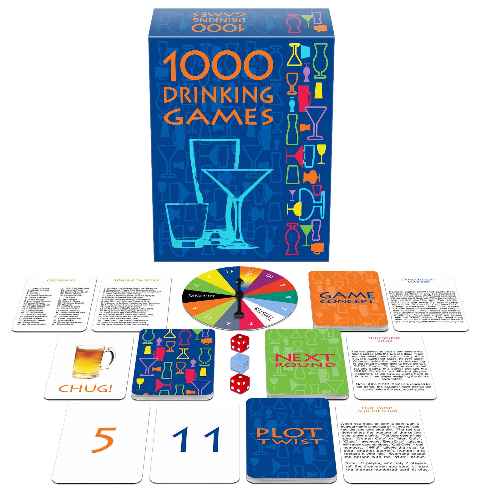 1000 DRINKING GAMES  - KHEBGD96