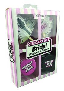 Cupcake Set Bridal