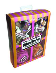 (Wd) Bikini Babes Cupcake Sets