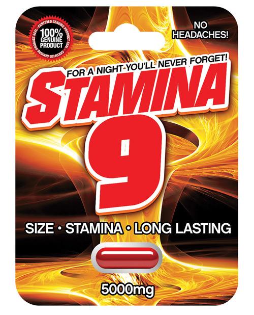 STAMINA 9 1 CAP