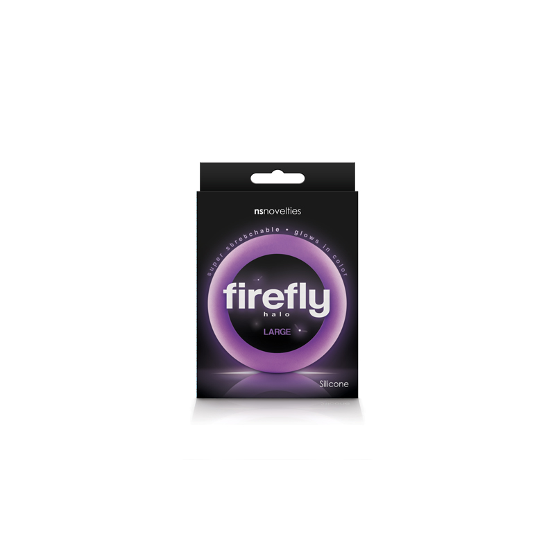 FIREFLY HALO LARGE COCK RING PURPLE