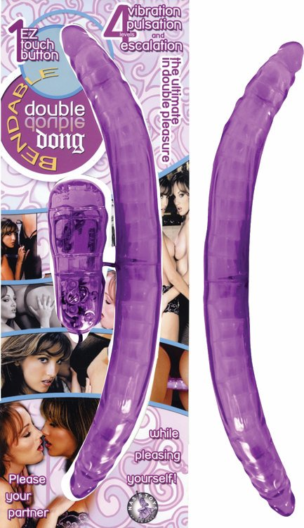 BENDABLE DOUBLE DONG PURPLE