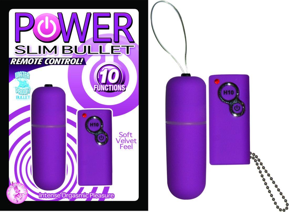 POWER SLIM BULLET REMOTE CONTROL PURPLE