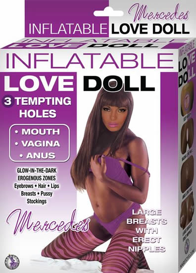LOVE DOLL MERCEDES BROWN
