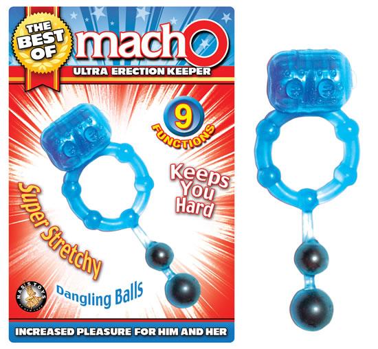 BEST OF MACHO ULTRA ERECTION KEEPER BLUE