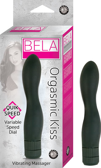 Kiss Black Vibrating Massager