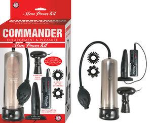 Commander Mens Power Kit Black