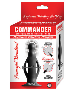 Commander Beginners Vibrating Butt Plug Small