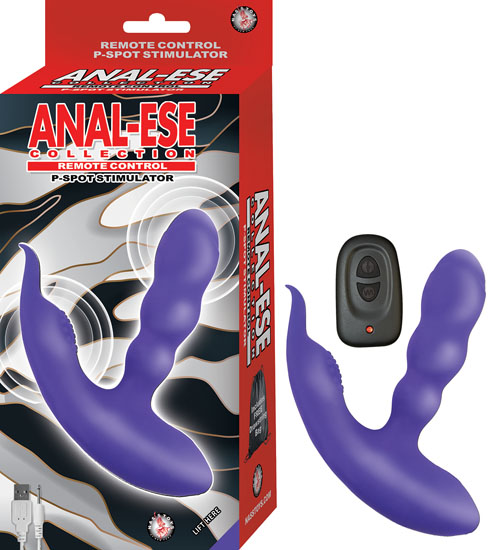 ANAL ESE COLLECTION REMOTE CONTROL P SPOT STIMULATOR PURPLE