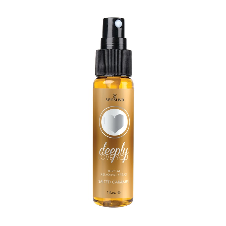DEEPLY LOVE YOU SALTED CARAMEL THROAT RELAXING SPRAY 1 OZ
