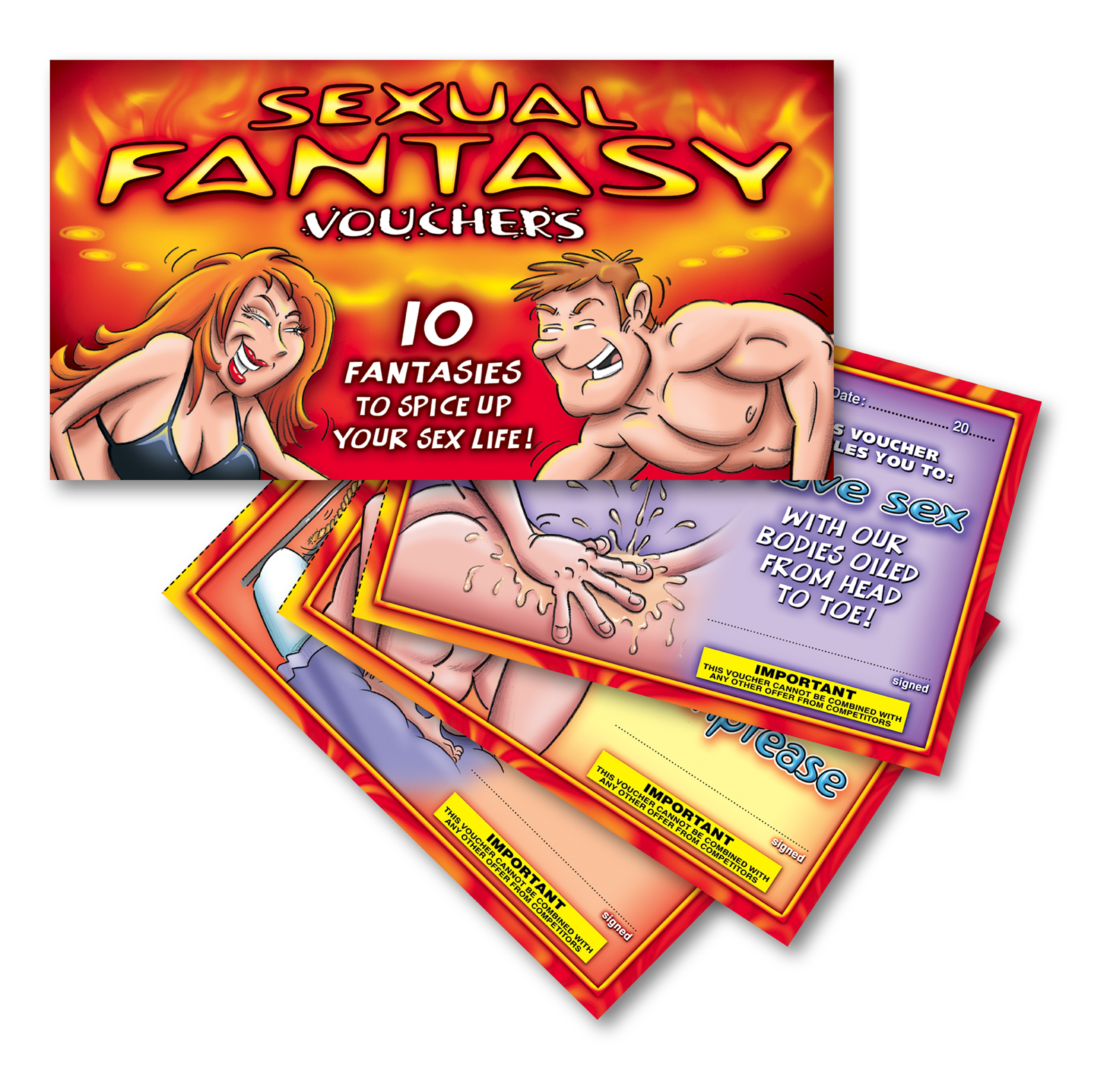 SEXUAL FANTASY SCRATCHER