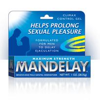MANDELAY CLIMAX CONTROL GEL 1 OZ