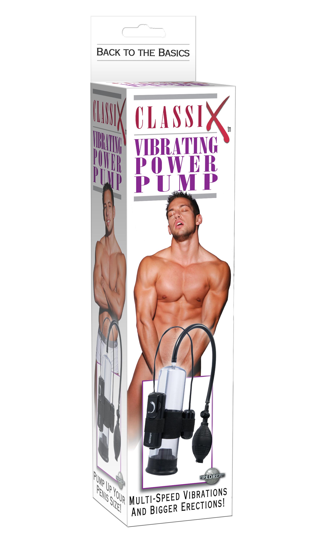 CLASSIX POWER PUMP VIBRATING