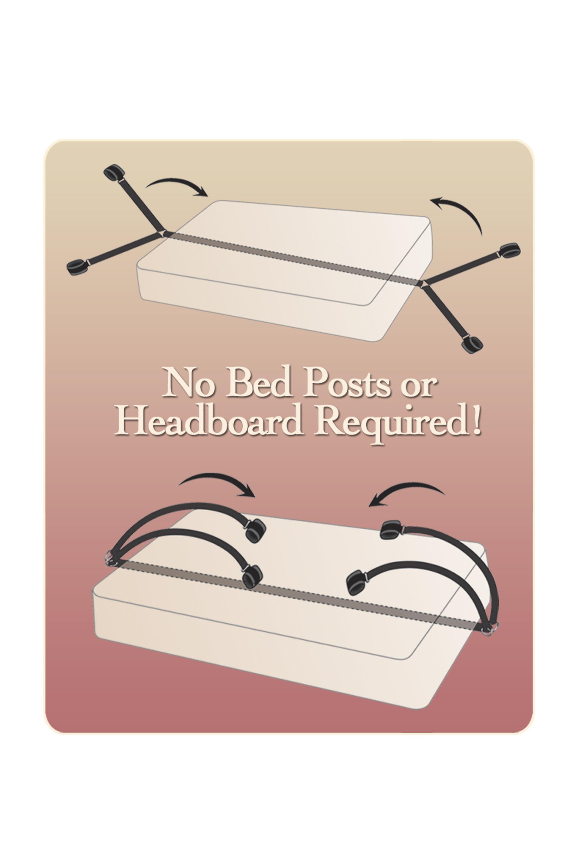FETISH FANTASY BED BINDINGS RESTRAINT KIT