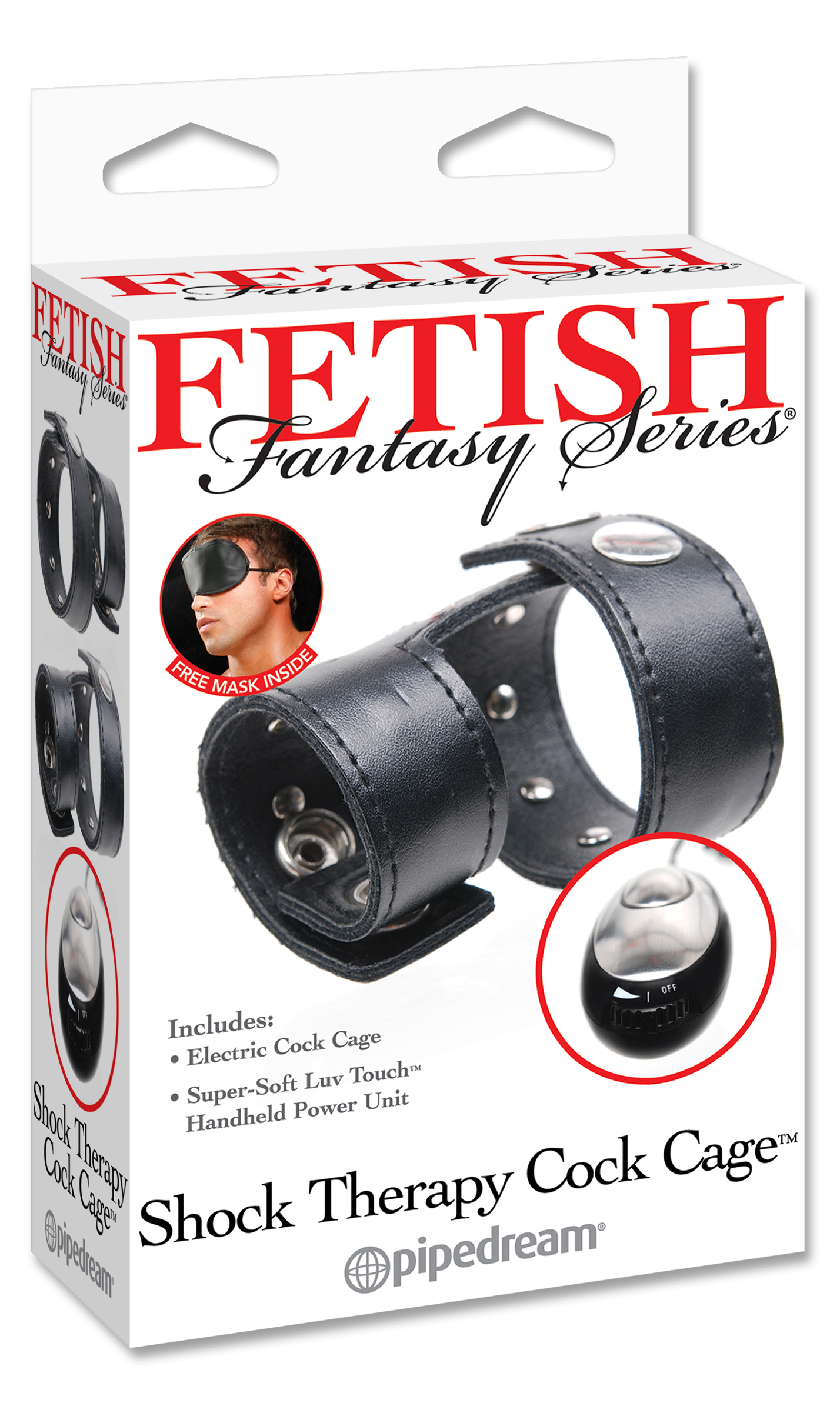FETISH FANTASY SHOCK THERAPY COCK CAGE