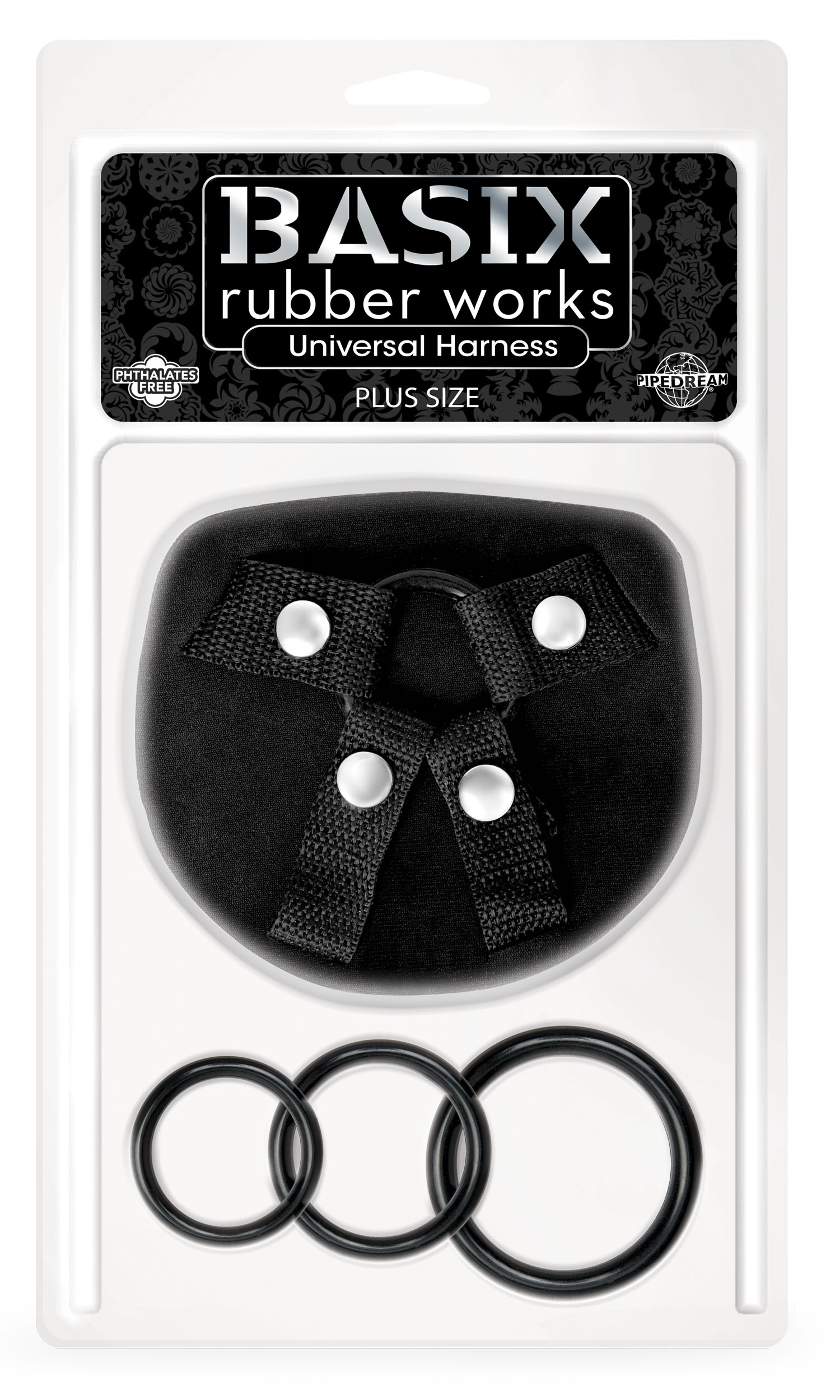 BASIX RUBBER WORKS UNIVERSAL HARNESS PLUS SIZE