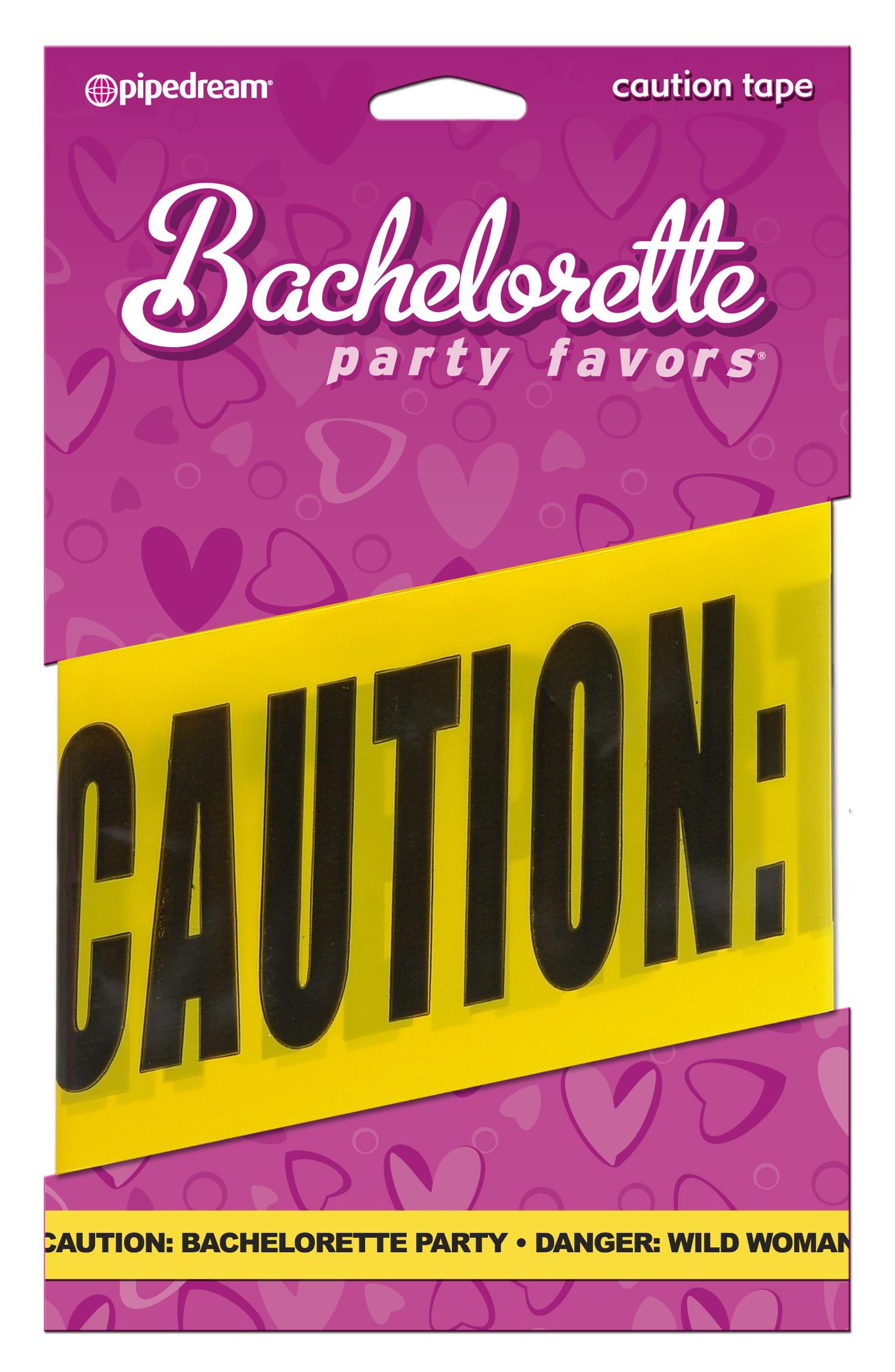 BACHELORETTE CAUTION TAPE 20