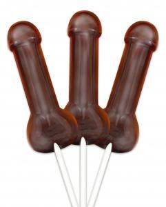 Bachelorette Pecker Lollipop Mold