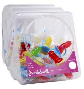 Bachelorette Candy Pecker Pacifier (48 Per Display)