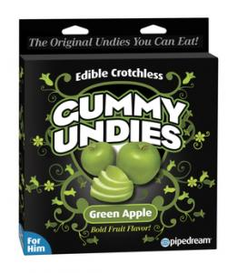 Edible Male Gummy Undies Apple
