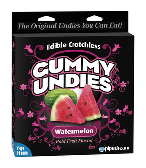 EDIBLE MALE GUMMY UNDIES WATERMELON