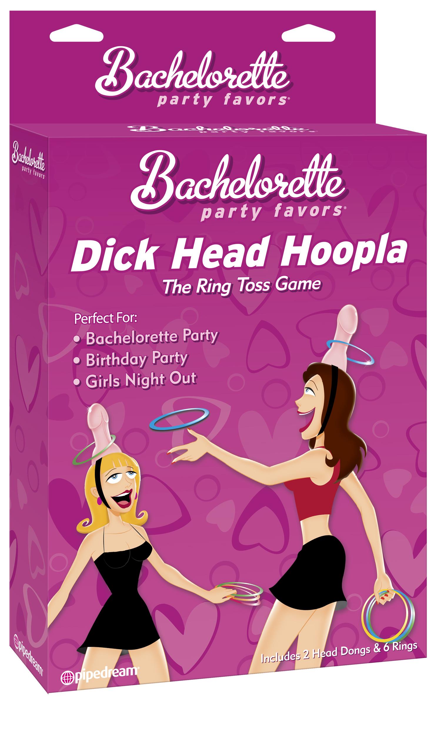 BACHELORETTE DICK HEAD HOOPLA
