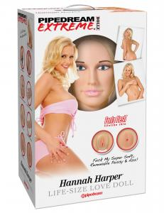 Pipedream Extreme Dollz Hannah Harper