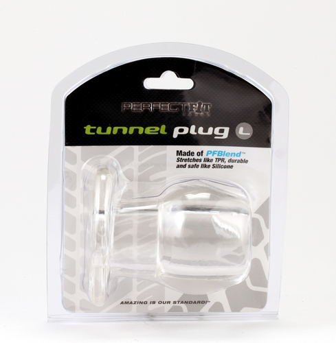 PERFECT FIT TOY TUNNEL PLUG LG ICE CLEAR