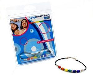 Alum. Tube Beads Bracelet