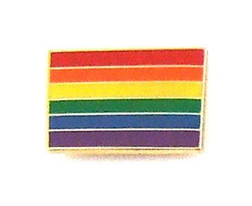 LAPEL PIN RAINBOW FLAG