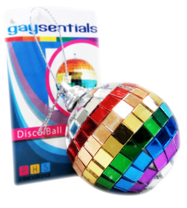2 In Rainbow Disco Ball