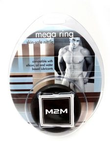 Ring Mega Nitrile Large Black