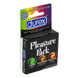 Durex Pleasure Pack 3Pk
