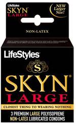 LIFESTYLES SKYN LARGE 3 PACK
