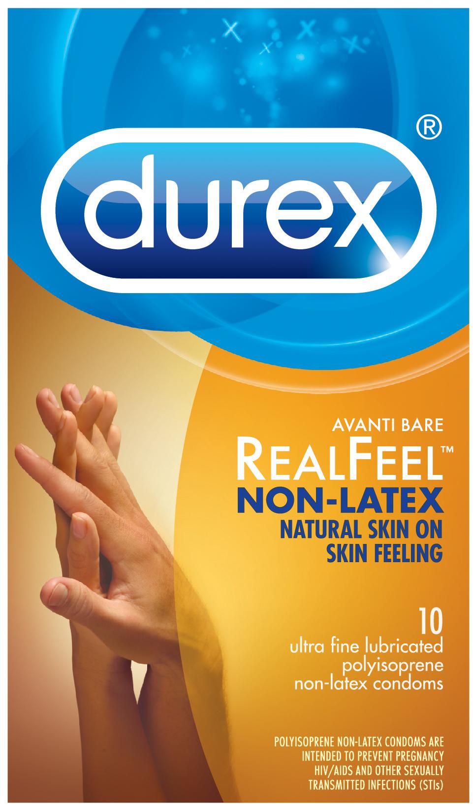 DUREX AVANTI REEL FEEL NON LATEX 10 PACK  - R89456