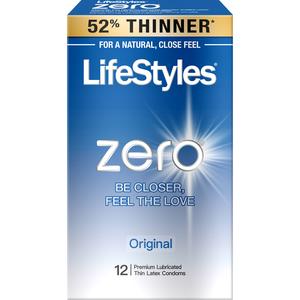 Lifestyles Zero 12 Pk