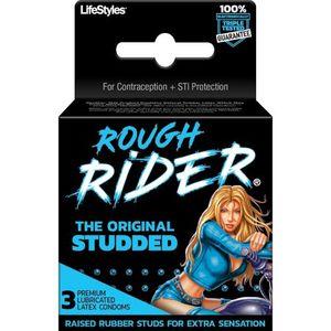 Rough Rider Studded 3Pk