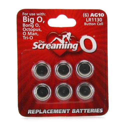 Batteries Ag10 Big O Octopus Bong O 6 Pack
