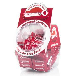 Screaming O Condom Bowl 144Pcs