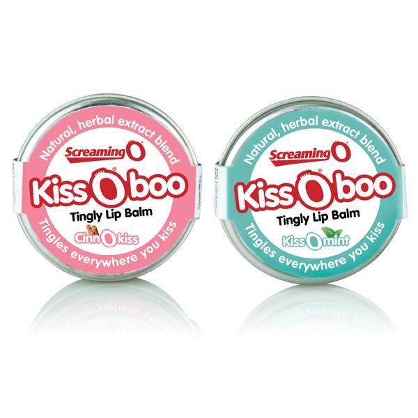 KISS O BOO CINNAMON TINGLY LIP BALM